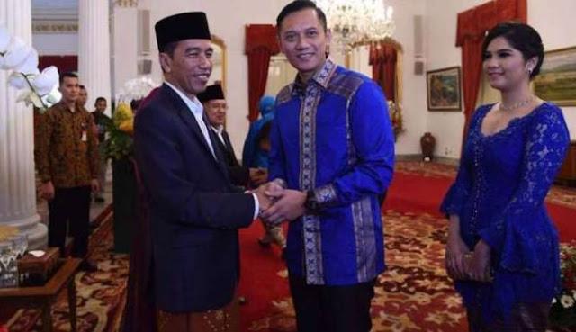 Temui Jokowi, AHY: Demokrat Akan Berkoalisi pada Pilpres 2019