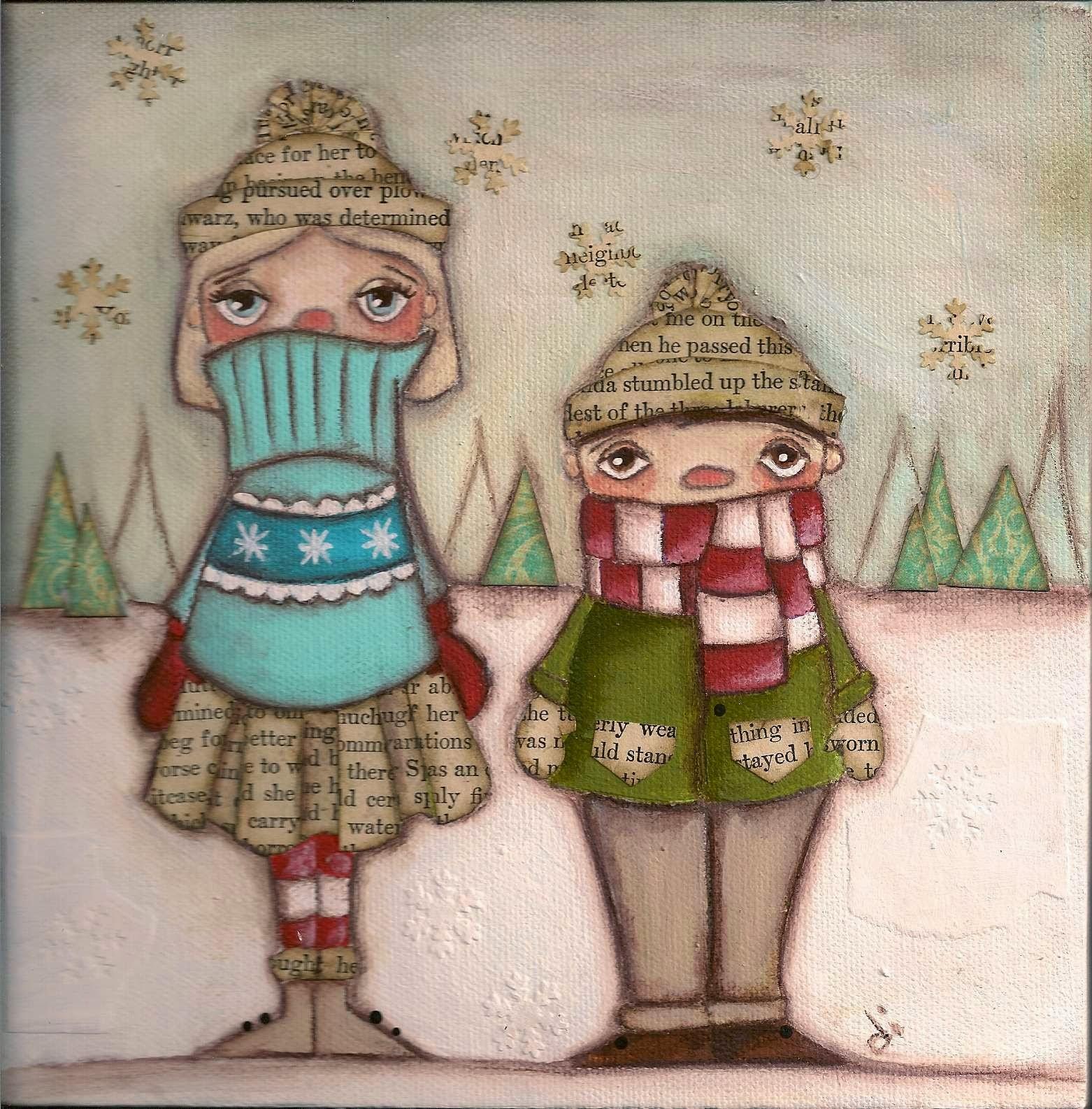 dibujos de ninas