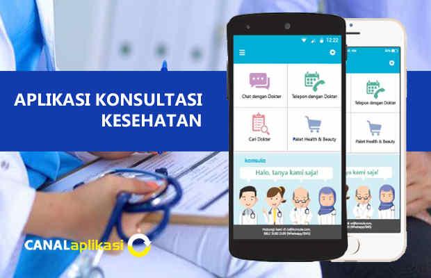 Konsultasi kesehatan melalui aplikasi android