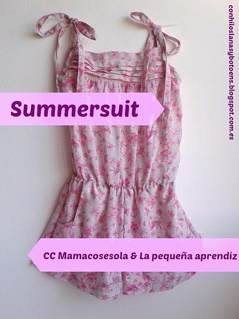 Con hilos, lanas y botones: Summersuit 2 (CC de Mamacosesola & La pequeña aprendiz)