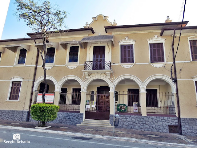 Vista da fachada da CEI Catarina Laboure - Ipiranga - São Paulo