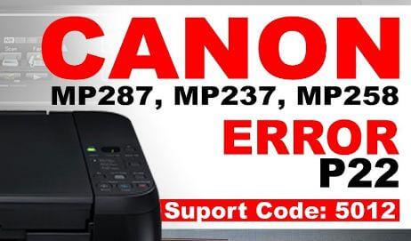 Cara mengatasi error P22 pada semua jenis printer canon