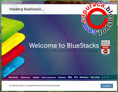 Cara instal bluestacks di pc atau laptop