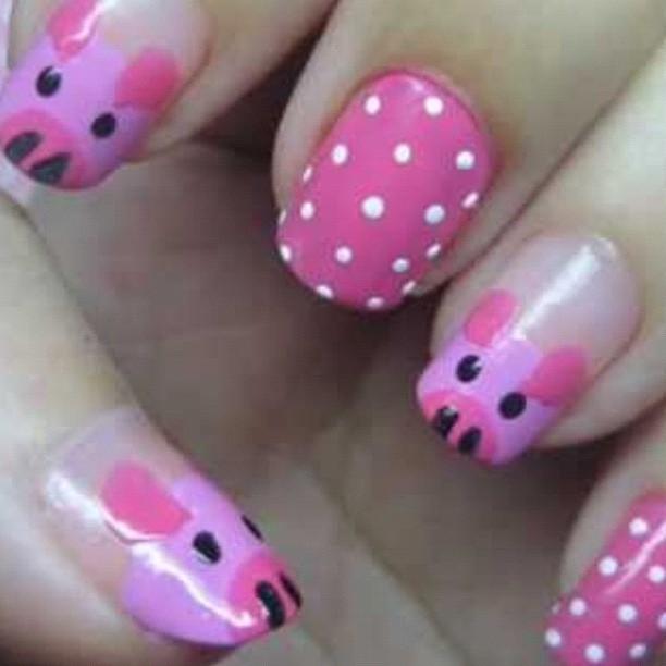 Pig Nail Designs