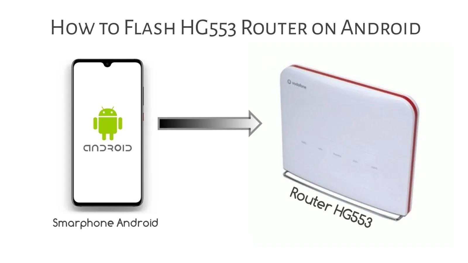 Cara Flash Ulang Router HG553 Pulpstone Openwrt di Android