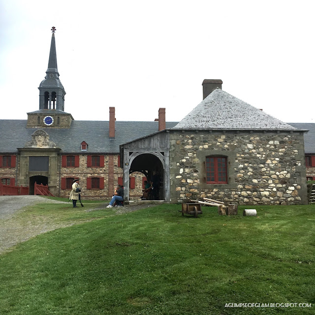 Fortress of Louisbourg Nova Scotia Tour - Andrea Tiffany A Glimpse of Glam