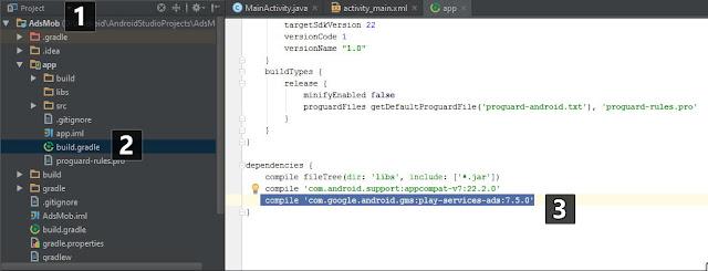 Tutorial Cara Memasang Admob di Aplikasi Android 2