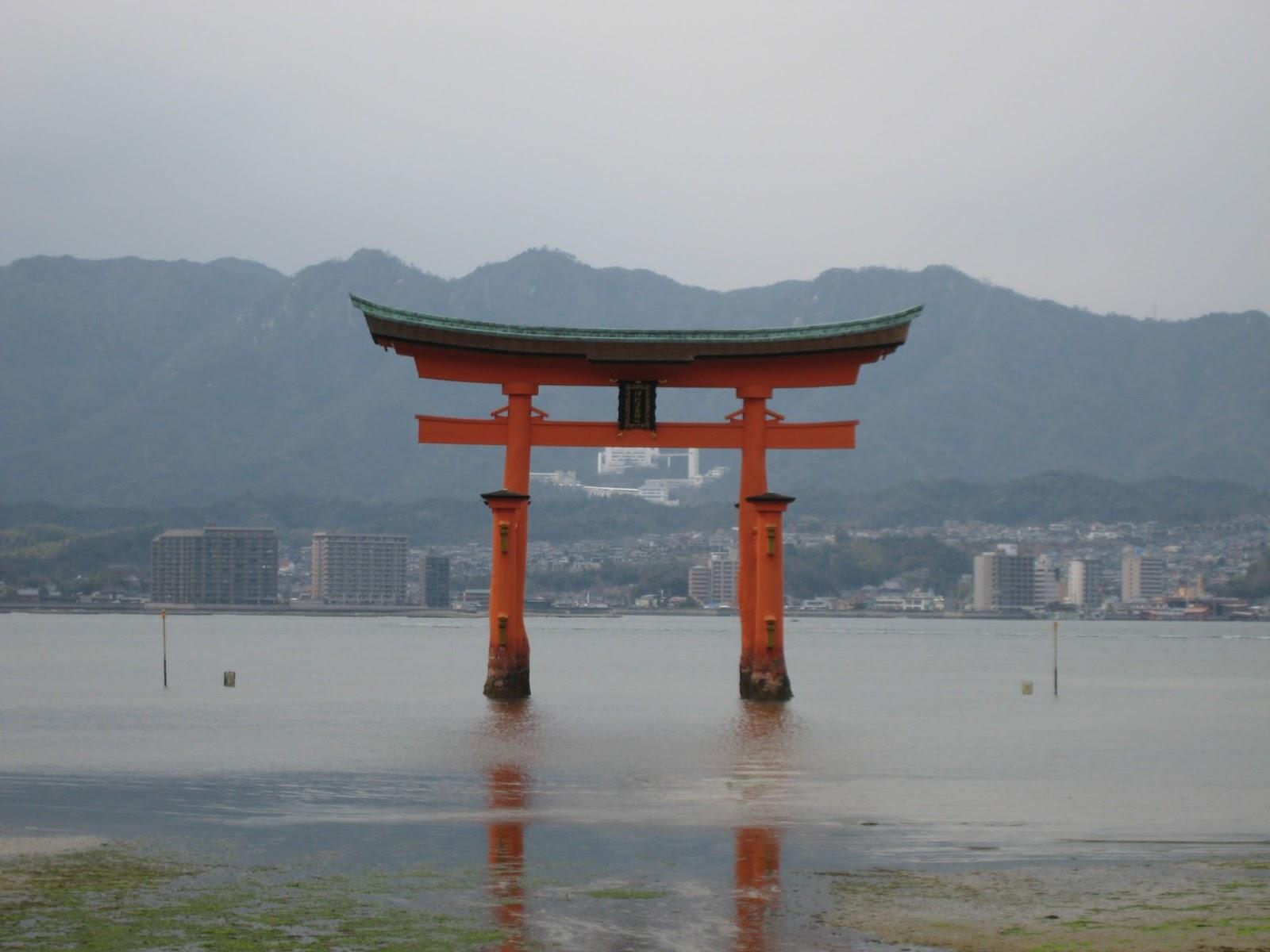 Patrimonio de la Humanidad en Asia y Oceanía. Japón. Santuario Itsukushima.