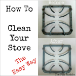 How to Clean Stove Top the Easy Way