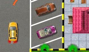 لعبة سيارة تعلم السياقة