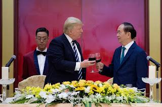 Trump, Vietnamese President, Tran Dai Quang