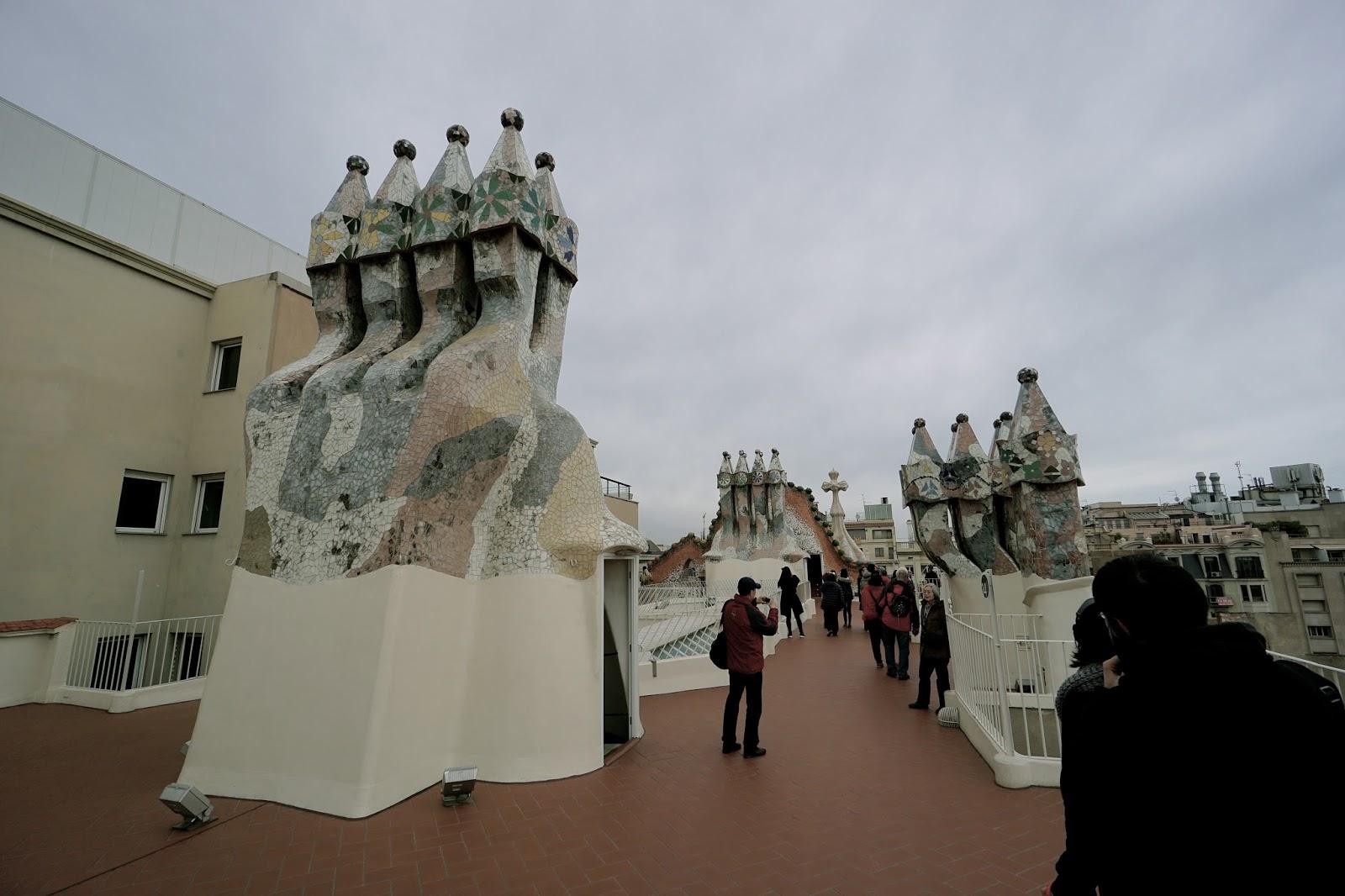 カサ・バトリョ(Casa Batlló) 屋上