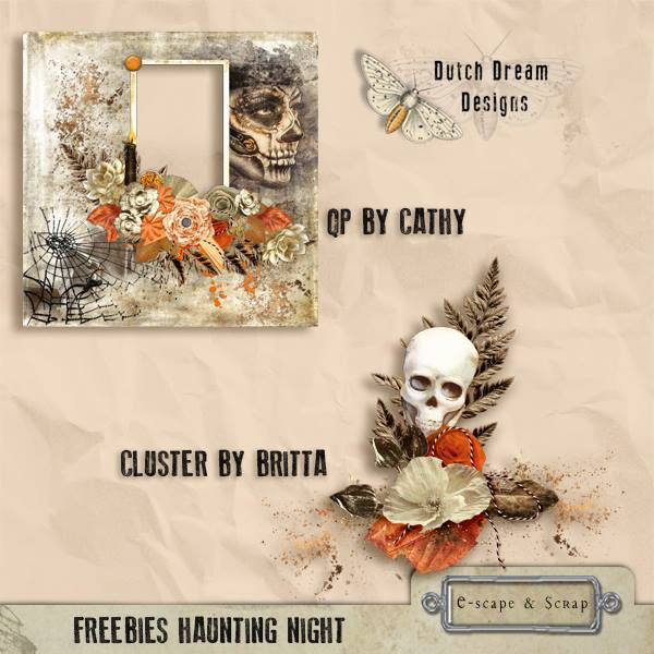 """HAUNTING NIGHT"" Addon Kit & #FREEBIE by Dutch Dream Designs"