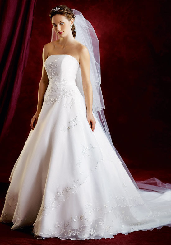 Big White Wedding Dress Designs