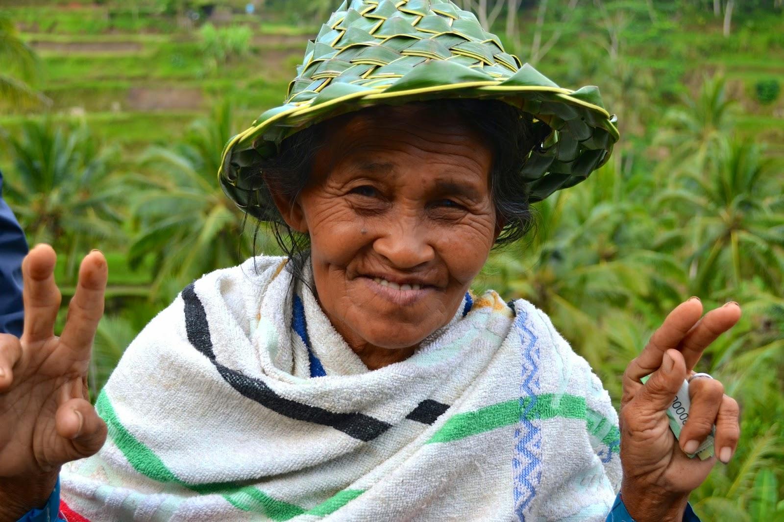 arrozales escalonados de Tegallalang, Bali, Indonesia