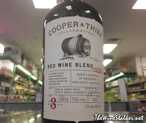 Cooper & Thief Red Wine Blend 2014