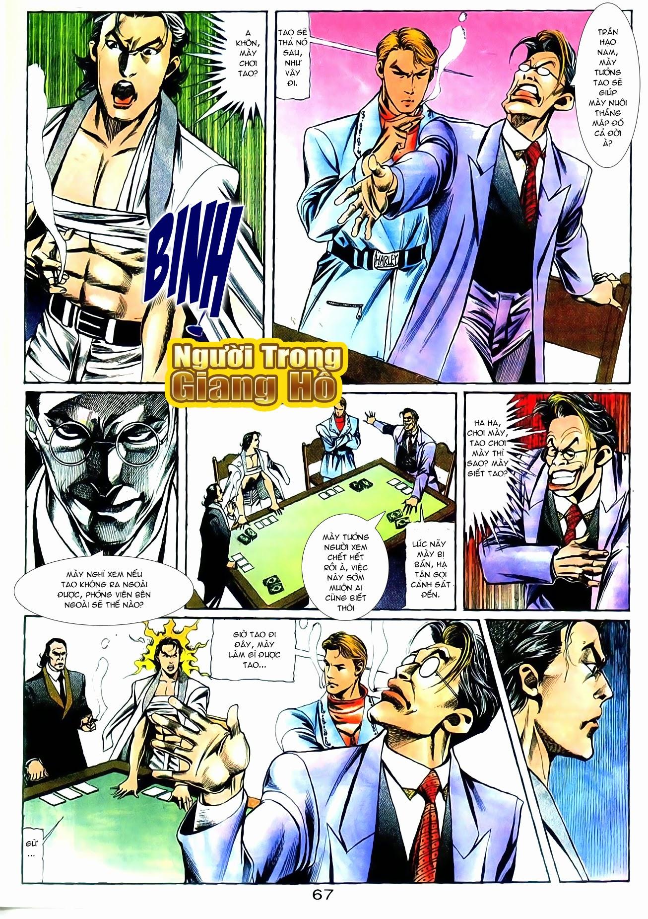 Người Trong Giang Hồ chapter 101: vô địch100% trang 21