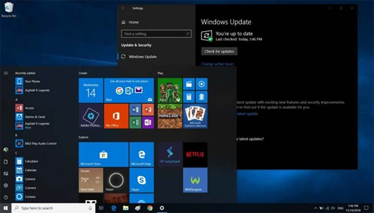 Windows 10 19H1 Dengan Peningkatan Folder Downloads, Menu Start Dan Lainnya