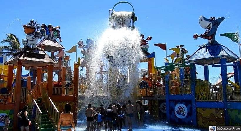 Aqua Show - Beach Park - parque aquático do Ceará