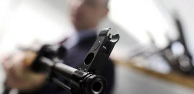 سطو مسلح - صورة أرشيفية