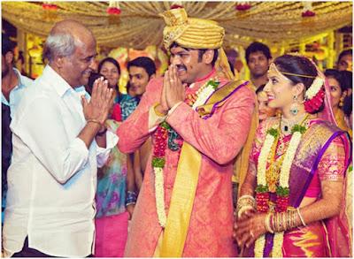 Rajnikanth in Manchu Manoj wedding