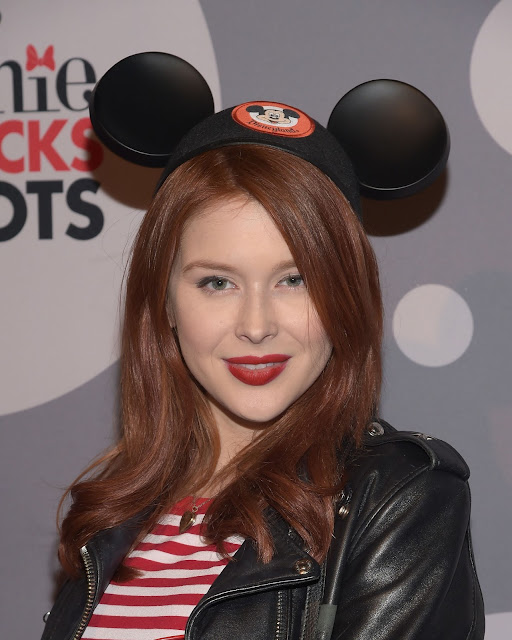 Actress, Singer, @ Renee Olstead - Minnie Mouse Rocks The Dots Art And Fashion Exhibit in LA