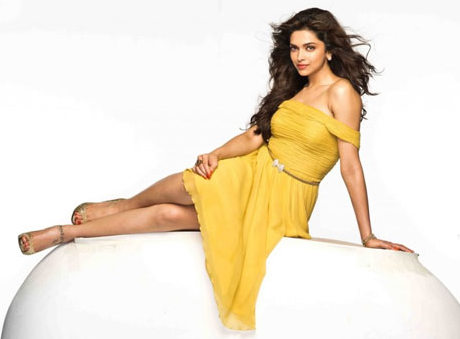 Deepika in Yellow Outfit in a photo shoot
