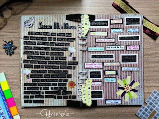 Present For Myself DIY Scrapbook 2 Idea Hadiah Untuk Diri Sendiri