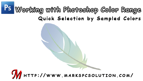 Photoshop Color Range Command