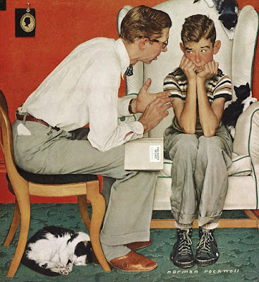 Norman Rockwell, Facts of Life (1961)