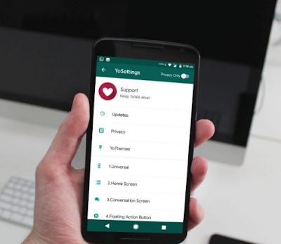 cara memperbarui yowhatsapp update new version link
