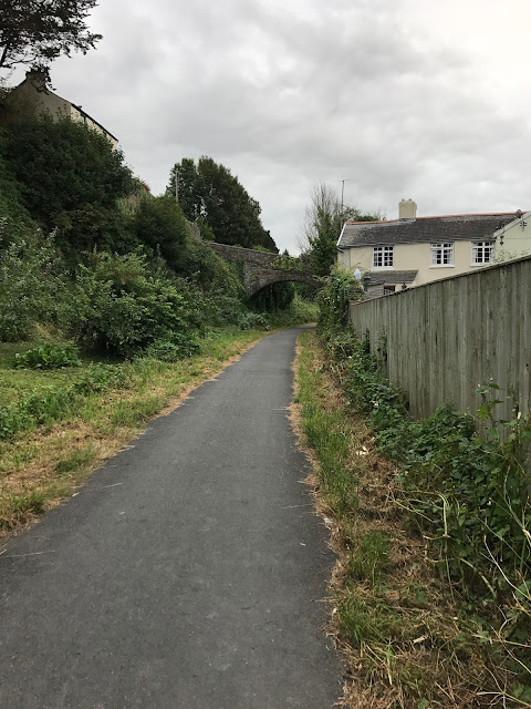 Tarka Trail cycle path, Bideford, Devon