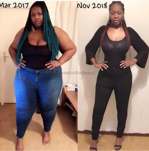 Nigerian lady gives up her big booty for a healthier life