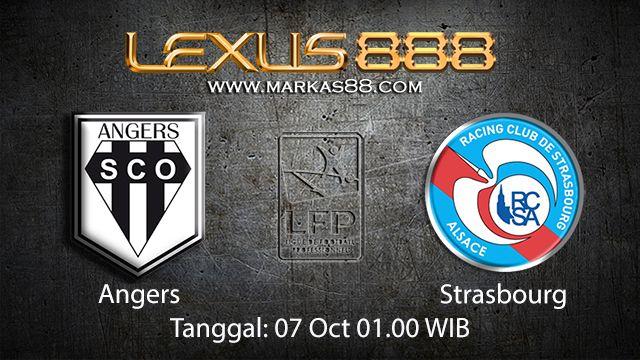 Prediksi Bola Jitu Angers vs Strasbourg 07 Oktober 2018 ( French Ligue 1 )