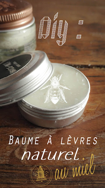 recette de baume à lèvre naturel au miel prêt en 5 min ! huile de coco, homemade, diy, facile, rapide et super efficace !