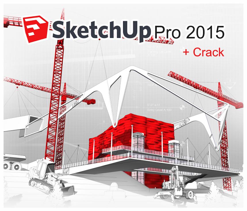 SKETCHUP PRO 2015 WIN + VRAY 2015 + CRACK - 64 BITS Y 32