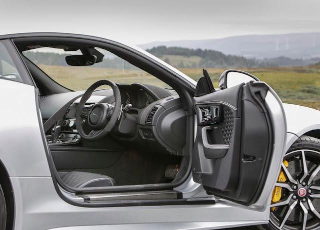 2016  interior  latest Jaguar F-Type SVR UK reviews