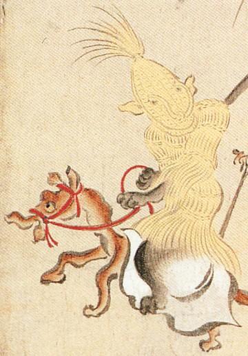 『百鬼夜行絵巻』にある草履の妖怪