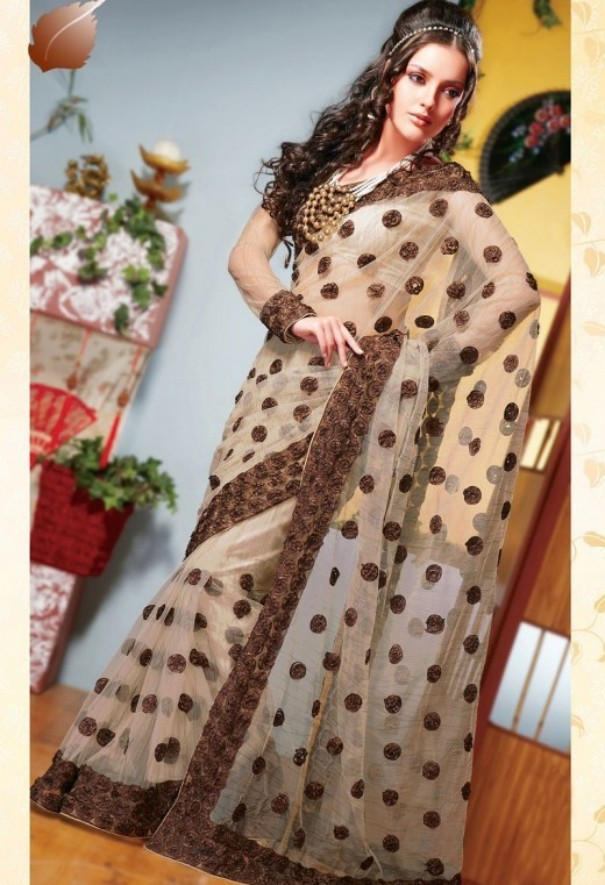 Kewtified Saree Fashion 2012 Latest Collection: Kewtified: Latest Indian Saree Fashion 2012