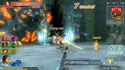 Dynasty Warriors StrikeForce PPSSPP