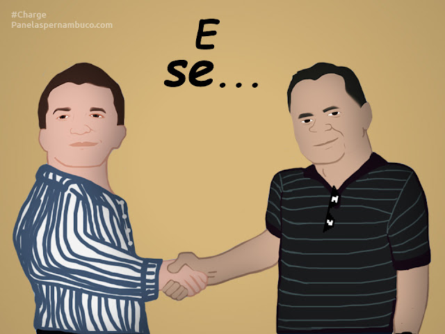 #CHARGE Rildo e Sérgio: e se...