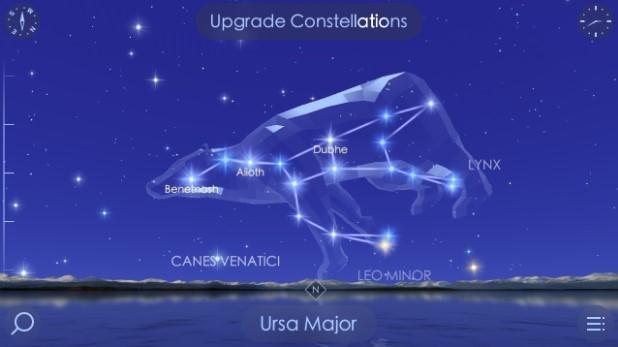 تطبيق إستكشاف الكون و مراقبة النجوم و مراحل الشمس والقمر Star Walk 2 النسخة المدفوعة ...