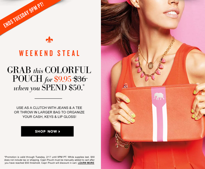 Stella & Dot President's Day Sale - Weekend Steal Special