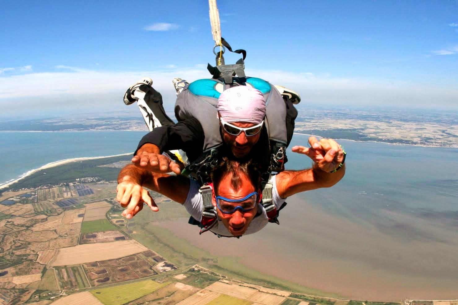 saut en parachute soulac