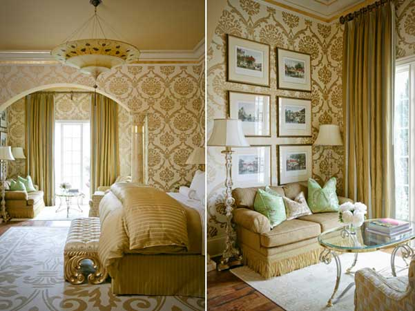 Yellow Bedroom Wallpaper Ideas