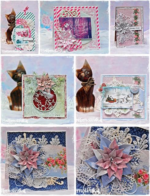 5 kartek świątecznych i tag