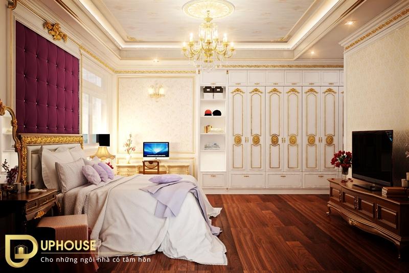 Nội thất phòng ngủ tân cổ điển 09