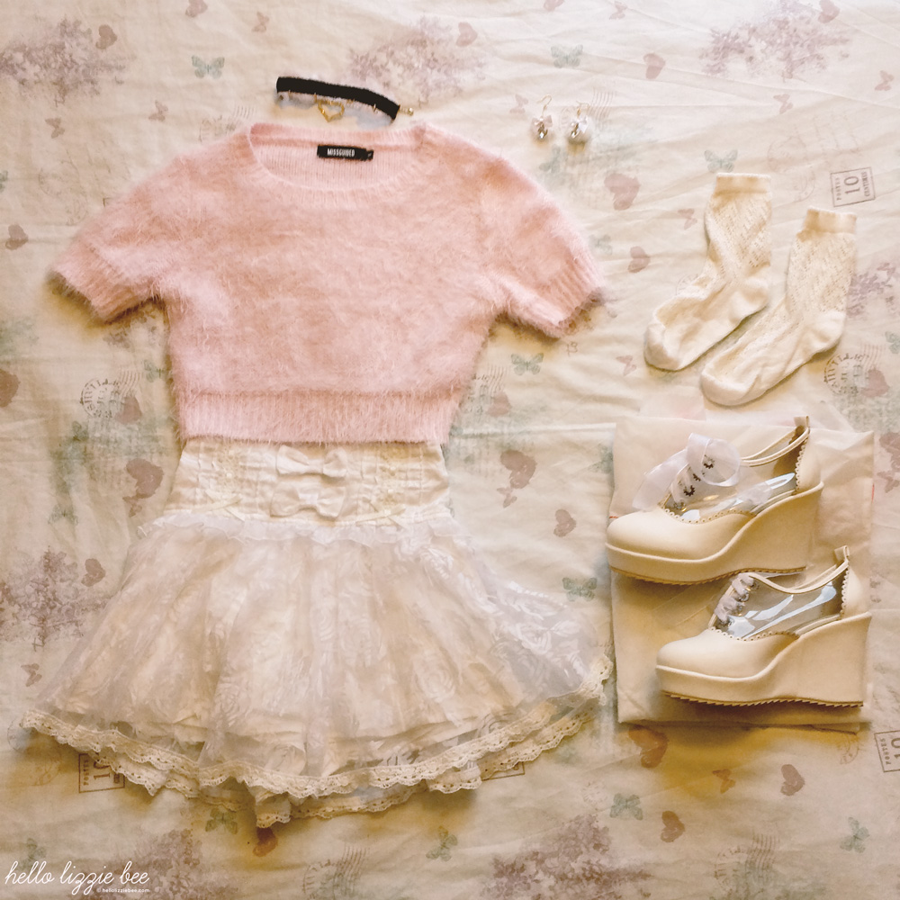 one item five ways with liz lisa skirt, dolly princess outfit