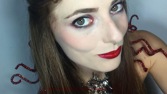 Resultados: Maquillaje inspirado en Bella. Colaboración princesas Disney.