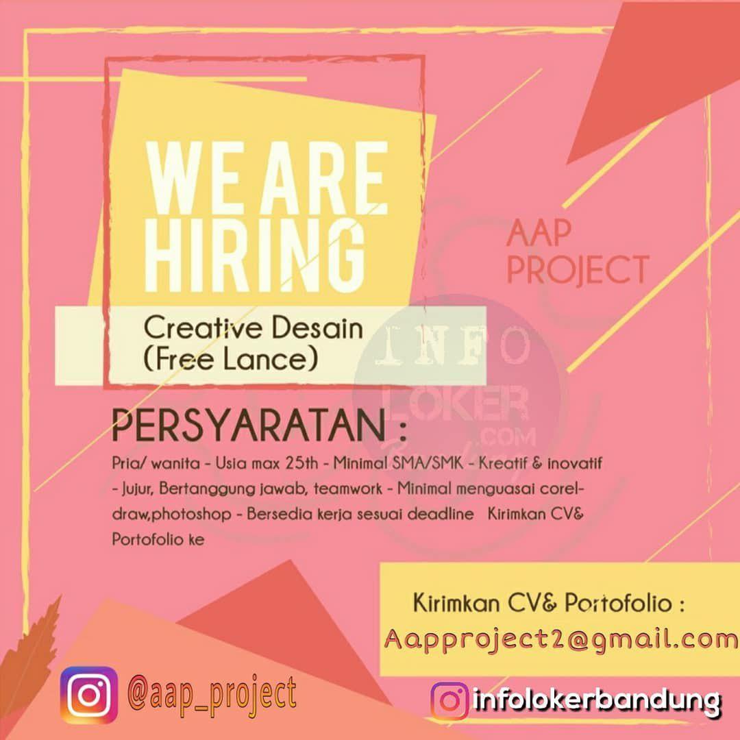 Lowongan Kerja Aap Project Agustus 2018